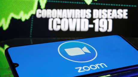 El valor de la 'app' de videoconferencias Zoom se duplica durante las cuarentenas por el coronavirus