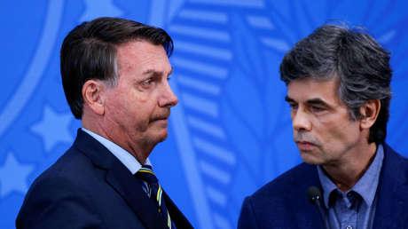 """Brasil corrige la cifra de fallecidos por un """"error de digitación"""" en su último reporte sobre el coronavirus"""