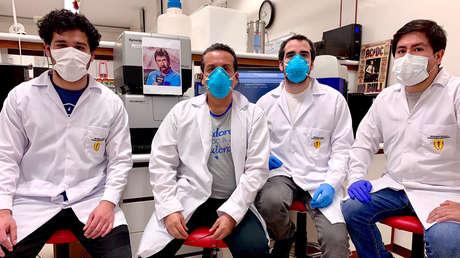 Científicos peruanos desarrollan una prueba rápida de covid-19 similar a un test de embarazo