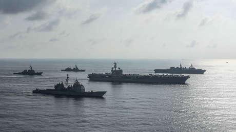 """Pompeo: """"No se puede permitir que Pekín trate el mar de la China Meridional como su imperio marítimo"""""""