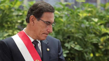 El Congreso de Perú destituye al presidente Vizcarra tras aprobar el segundo pedido de vacancia en su contra
