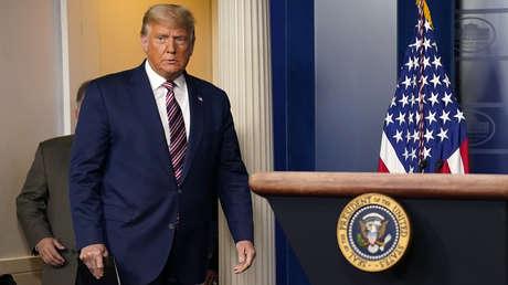 """Trump anuncia un """"gran progreso"""" tras su denuncia de fraude electoral y asegura que habrá resultados la semana que viene"""