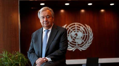 Secretario general de la ONU, António Guterres