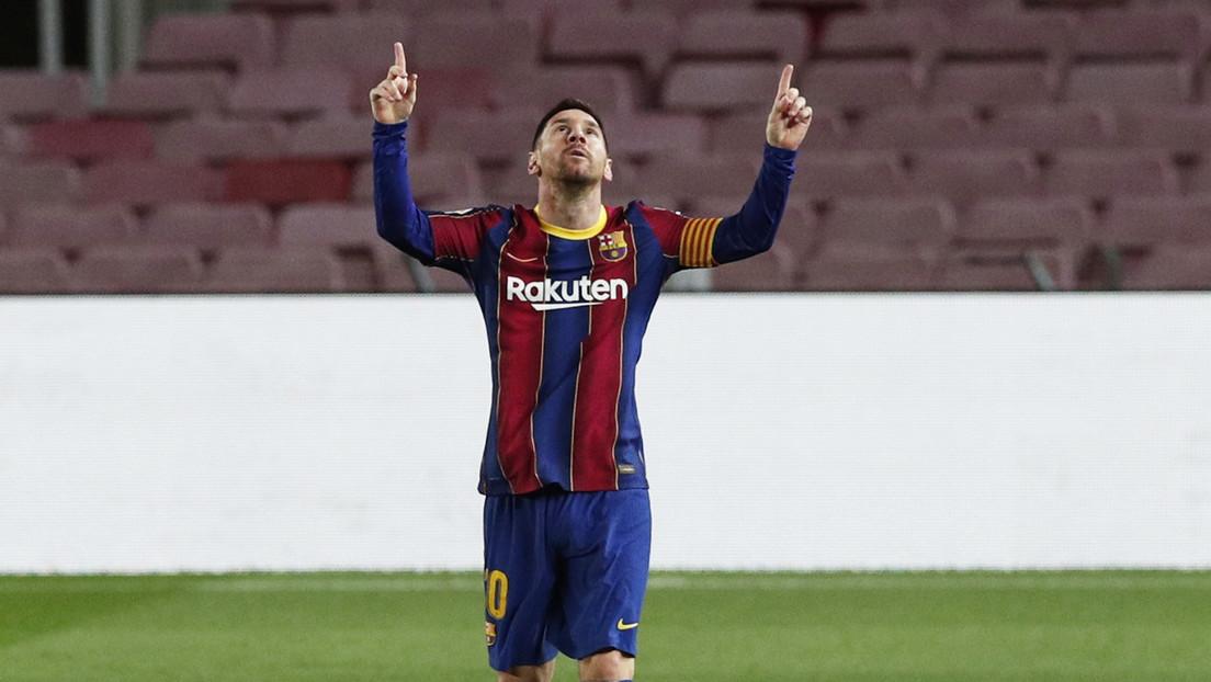 Messi llega a su gol 650 con el Barcelona