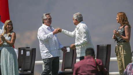"""López Obrador y Fernández advierten del """"peligro"""" de que la OEA exceda """"sus facultades"""", como sucedió en Bolivia en 2019"""