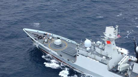 VIDEO: Así impacta un misil supersónico chino contra un buque real durante un ejercicio