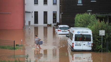 Fuertes tormentas en Alemania dejan al menos 42 muertos, casas colapsadas por las inundaciones y decenas de desaparecidos