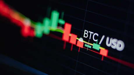 Bitcóin cae 10 % por temores a la situación de inmobiliaria Evergrande