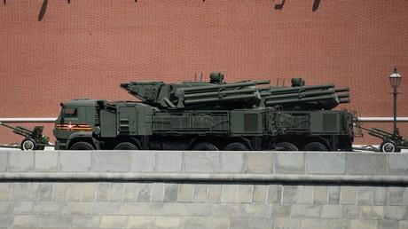 Kleinere Raketen für Panzir-SM: Neue Flugabwehr gegen Kleindrohnen (Symbolbild: Mittelstrecken-Flugabwehrsystem