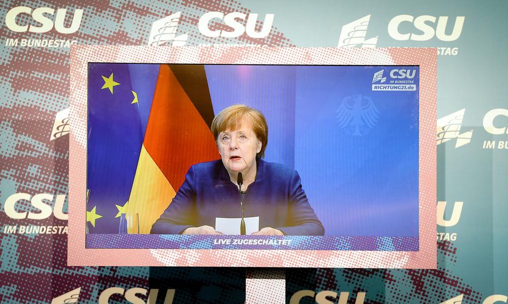 """Wegen """"Mutation"""": Merkel fordert Verlängerung des Lockdowns bis Ostern"""