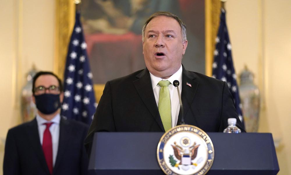 """Pompeo: """"Al-Qaida hat neuen Basisstützpunkt im Iran"""" – Teheran spricht von Kriegstreiberei"""