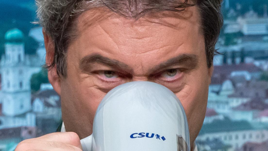 """Politischer Aschermittwoch: Söder findet """"alle Maßnahmen richtig"""""""