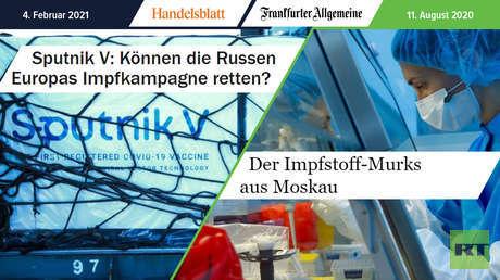 """Vom """"Impfstoff-Murks"""" zur """"Wunderwaffe aus Russland"""" – Sputnik V in den deutschen Medien"""
