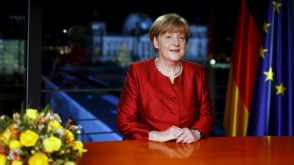'We can do it': Merkel defends Germany's refugee policy in NY address