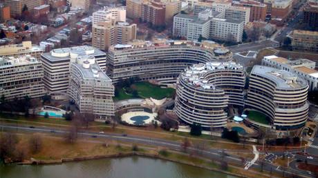 FILE PHOTO: The Watergate complex © wikipedia.org