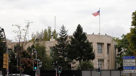 General view of the U.S. Embassy in Ankara © Qin Yanyang / Global Look Press