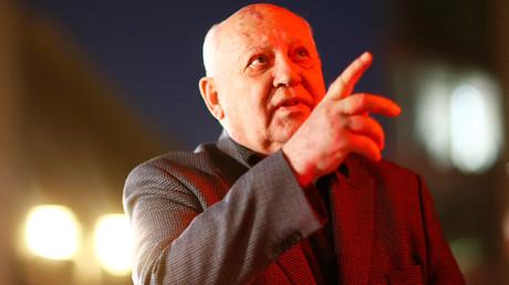 Former Soviet President Mikhail Gorbachev © Hannibal Hanschke