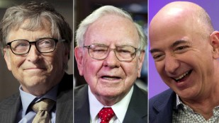 'Moral crisis': Gates, Buffett & Bezos richer than poorest half of America combined
