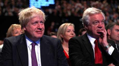 Boris Johnson is set for a gigantic u-turn on Britain's Brexit divorce settlement © Reuters/ Hannah Mckay