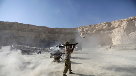 FILE PHOTO: Free Syrian Army fighters © Khalil Ashawi