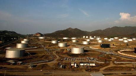 Oil fields in the Orinoco Belt of Venezuela © Jorge Silva