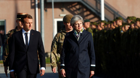 May caves over Calais: France dangles prospect of Brexit support and UK hands over £44.5m for border
