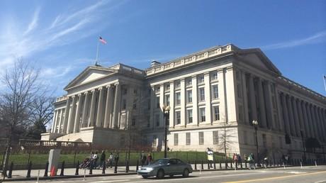 The US Treasury building in Washington © Paulo JC Nogueira