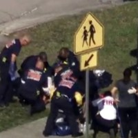 Terrifying footage from inside Florida school shooting (VIDEO)