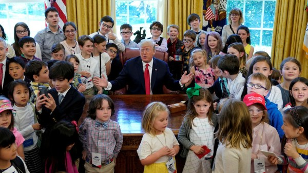 Washington politicians call a truce for 'take your child ...