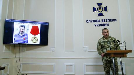 News briefing by Ukrainian Security Service © Valentyn Ogirenko