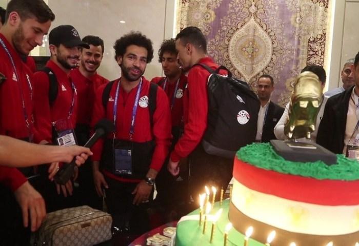 Make A Wish Salah Gets 100 Kg Birthday Cake In Grozny Video Rt