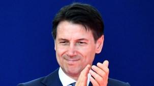 Italian Prime Minister Giuseppe Conte © Alberto PIZZOLI