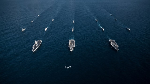 Reactivated US 2nd fleet returns to North Atlantic 'ready to fight'… guess who? (POLL)