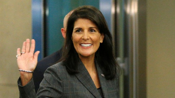 Testing presidential waters? Haley spoke to secretive ...