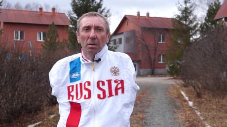 5be1ca61dda4c844718b4599 'I had blood blisters on my feet': Russian armless triathlete wins at European championships