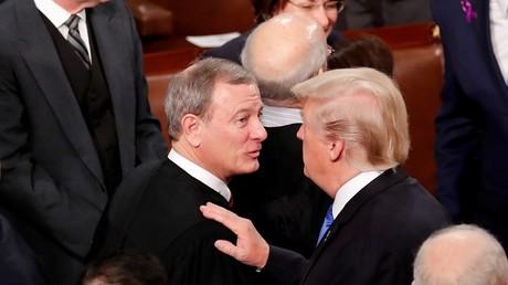 'Dangerous disgrace': Trump mulls breaking up 9th Circuit, hits back at SCOTUS chief justice