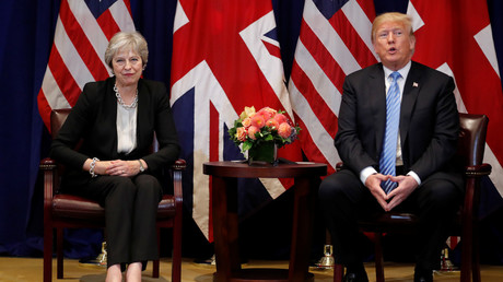 Trump publicly bashes May AGAIN, says Brexit is only 'great' for EU, will hurt UK-US trade deal