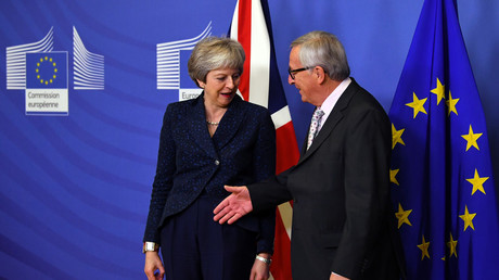 5bffc66ffc7e9377078b462b 'Friends with benefits, prime minister?' Theresa May stumped by UK-EU new relationship analogy