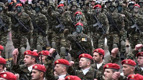 5c1c982cfc7e93436a8b45cf 'We'll crush them!' Greece threatens NATO ally Turkey over Aegean islets