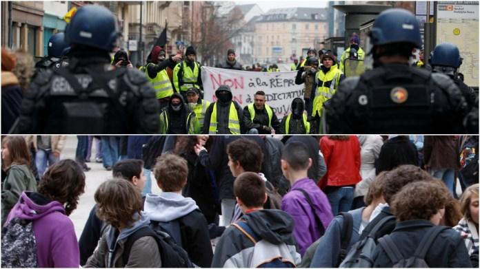 Playground politics: 'Yellow Vests vs. Police' game hitting French schoolyards