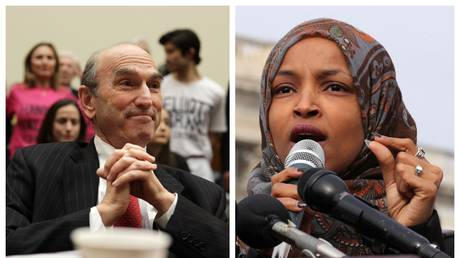 5c64a90cfc7e93ed138b4607 WATCH Ilhan Omar grill US Venezuela envoy on war crimes of previous US-backed coups