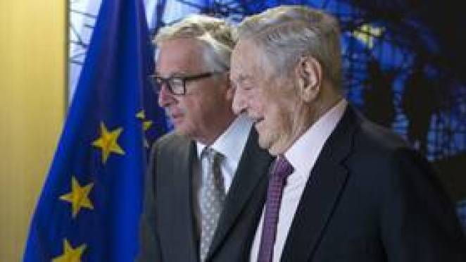 EU will dissolve like Soviet Union unless Europeans 'wake up', George Soros warns