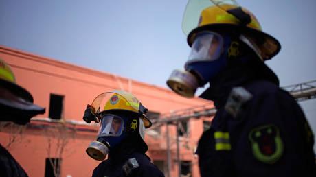 5ca090c3dda4c8b7038b45c6 7 killed, 100s evacuated as China suffers 2nd factory blast in 2 weeks (VIDEOS)