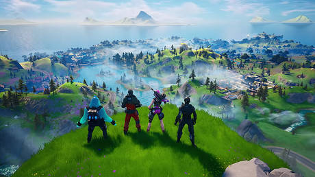 A still image from Fortnite Chapter 2 launch trailer © YouTube / Fortnite