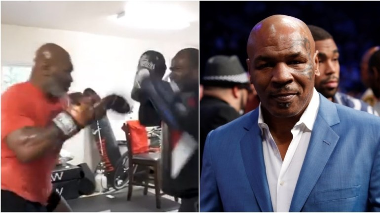 Mike Tyson 'could still kill someone with single punch,' new trainer says as former champ looks in ferocious shape before comeback 1