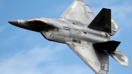 A Lockheed Martin F-22 Raptor fighter (FILE PHOTO).
