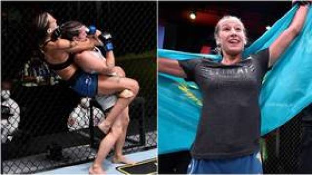 'She's a KILLER': Kazakhstan's Mariya Agapova announces UFC arrival with dominant debut win in Las Vegas