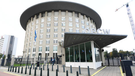 The building of the Organization for the Prohibition of Chemical Weapons (OPCW) in The Hague