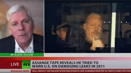 WikiLeaks editor-in-chief Kristinn Hrafnsson, December 17, 2020