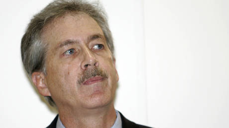 US ambassador to Moscow William Burns attends a news conference in Moscow March 1, 2007.